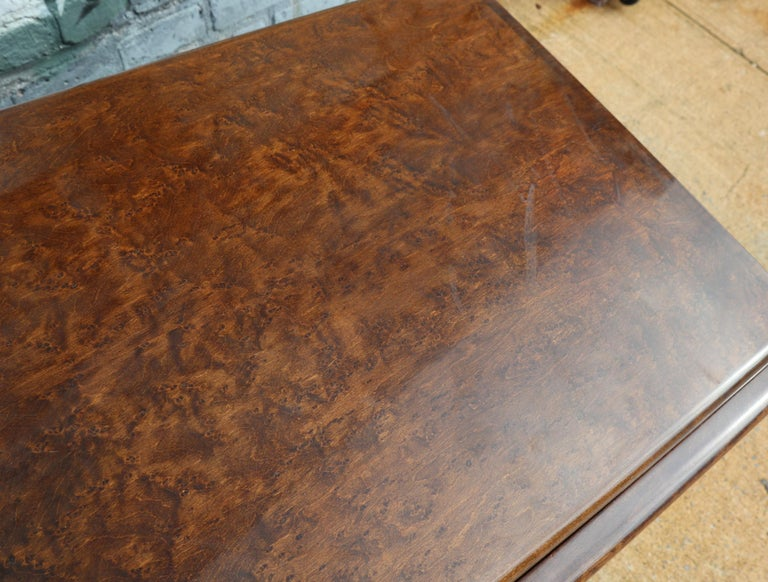Pair of Matching Milo Baughman Burl Wood Dressers for Thayer Coggin For Sale 5