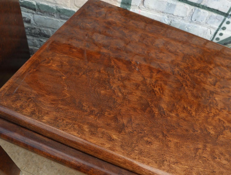 Pair of Matching Milo Baughman Burl Wood Dressers for Thayer Coggin For Sale 6