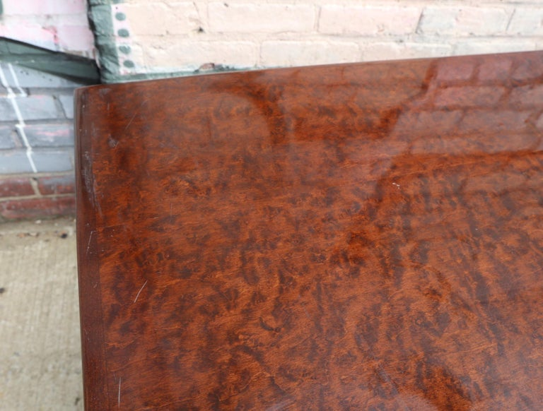 Pair of Matching Milo Baughman Burl Wood Dressers for Thayer Coggin For Sale 8