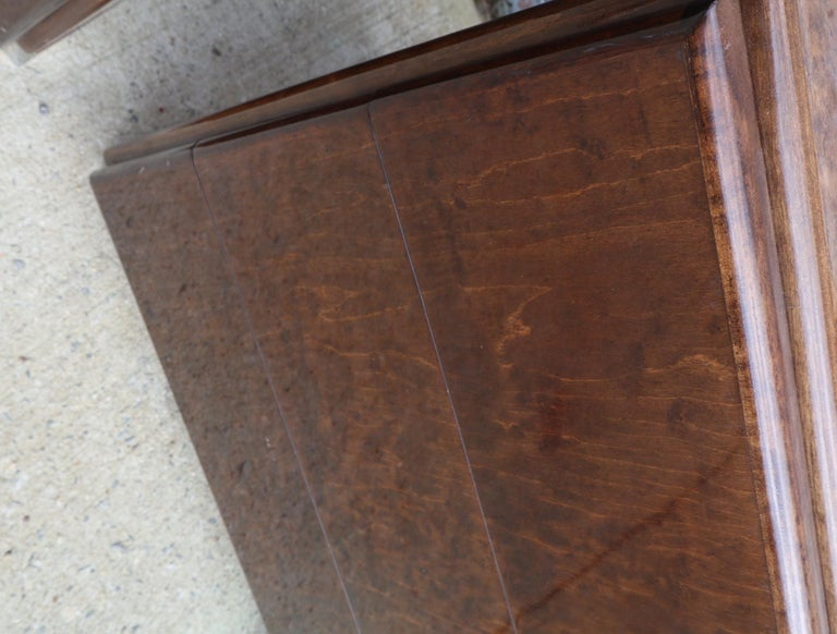 Pair of Matching Milo Baughman Burl Wood Dressers for Thayer Coggin For Sale 3