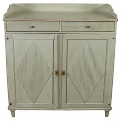 Painted 18th Century Gustavian Server