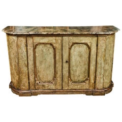 Painted, 19th Century Tuscan Buffet