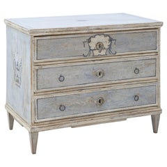 Painted Biedermeier Chest of Drawers, circa 1820