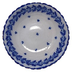 Painted Blue Bowl