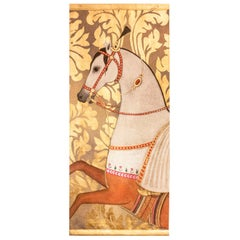 Painted Canvas, Arabian Horse, Contemporary Work