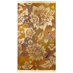 Painted Canvas, Birds and Foliage, Contemporary Work