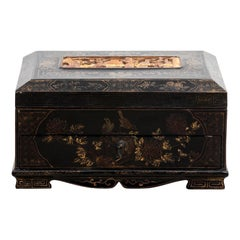 Painted Chinese Style Box