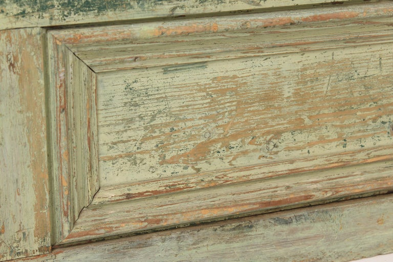 Painted Country Trunk For Sale 5