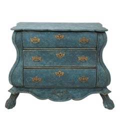 Painted Dutch Bombay Commode, circa 1890