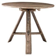 Painted Dutch Tilt-Top Table