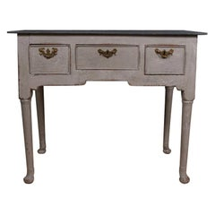 Painted English Lowboy