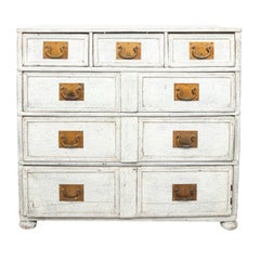 Painted French Commode, circa 1890s