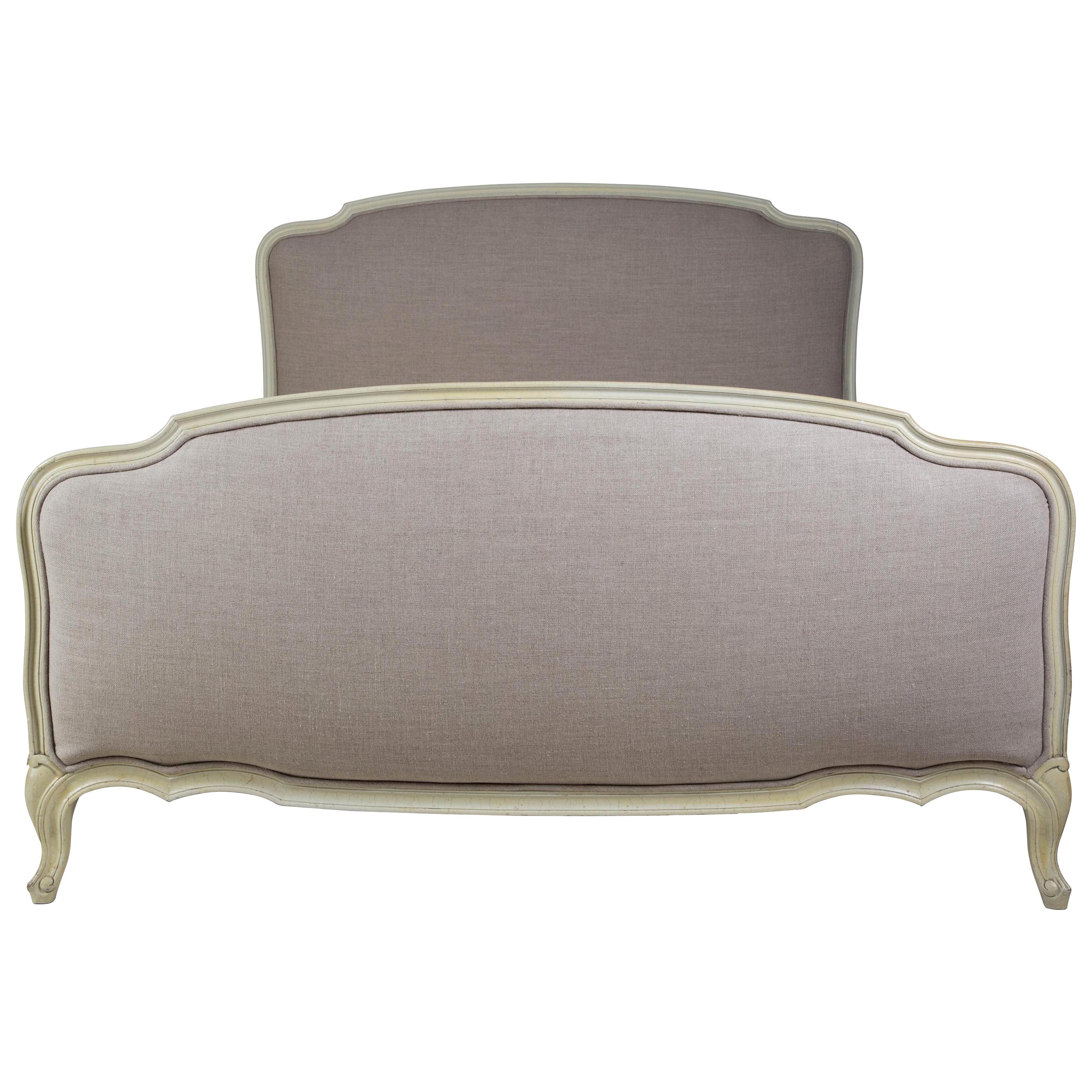 Painted French Double Bed