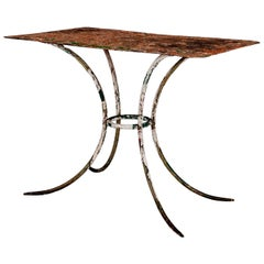 Painted French Iron Garden Table