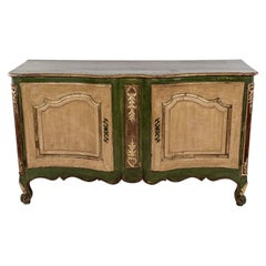 Painted French Louis XV Style Buffet