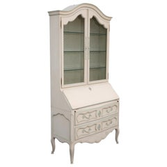 Painted French Secretary by Jacques Bodart