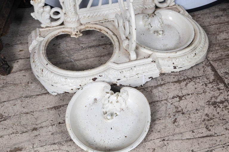Painted Iron Hall Rack For Sale 5