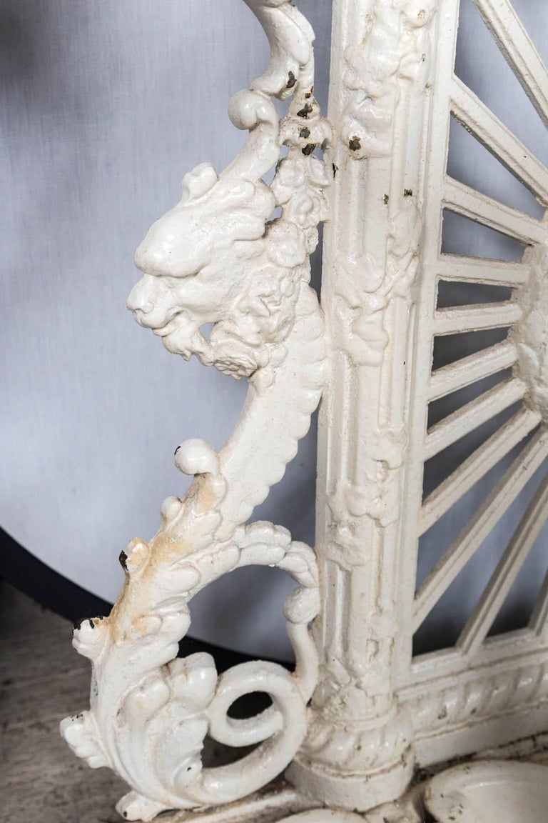 Painted Iron Hall Rack For Sale 4