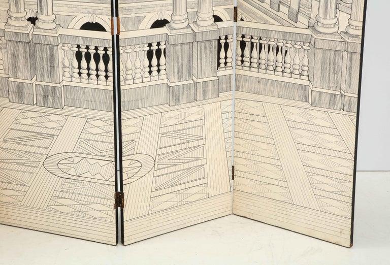 Painted Italian Interior Wood Screen 2