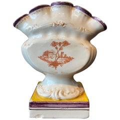 Painted Italian Pottery Tulipiere