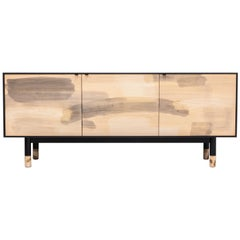 Painted Maple Credenza