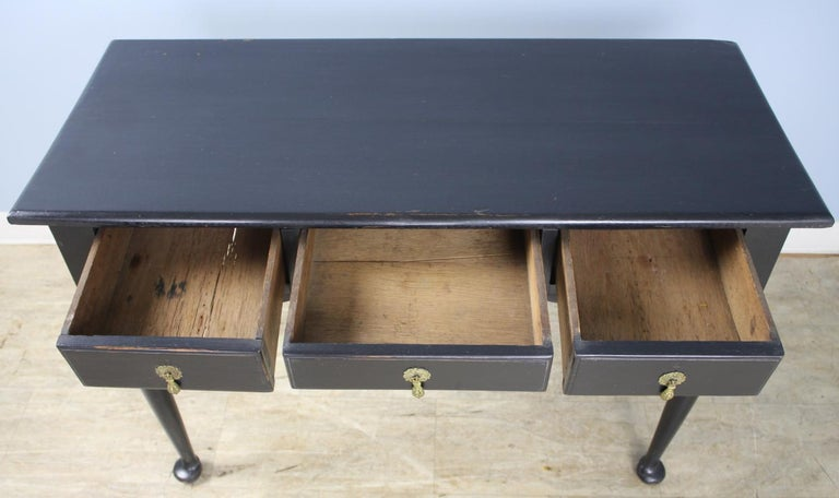 Painted Oak Pad Foot Server or Console, in the Style of George I For Sale 3