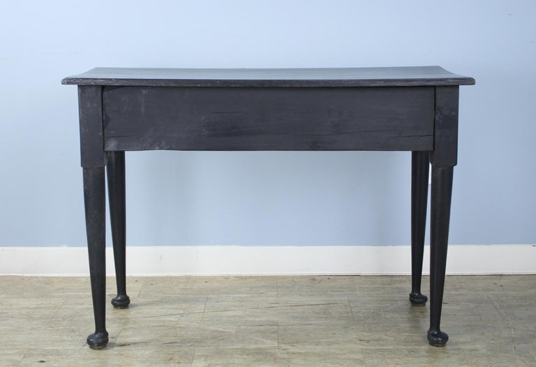 Painted Oak Pad Foot Server or Console, in the Style of George I For Sale 4
