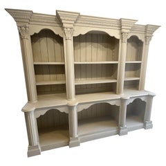 Painted Pine Dresser, Display Cabinet or Bookcase