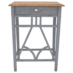 Painted Pine End Table