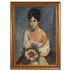 Painted Portrait of a Lady, 20th Century