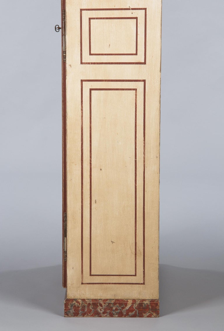 Painted Provencal Vitrine Bookcase, France Midcentury For Sale 10