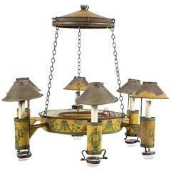 Painted Tole 6-Light Chandelier