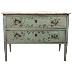 Painted Two Drawer Chest by Bob Christian