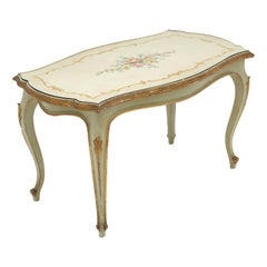 Painted Venetian Antique Coffee Table