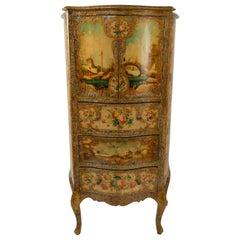 Painted Venetian Dresser