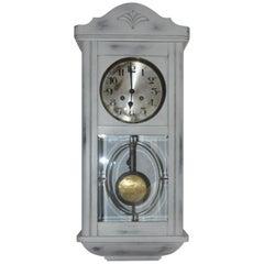 Painted White Clock, circa 1940