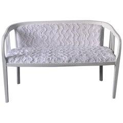 Bemalten weißen Secession Sofa