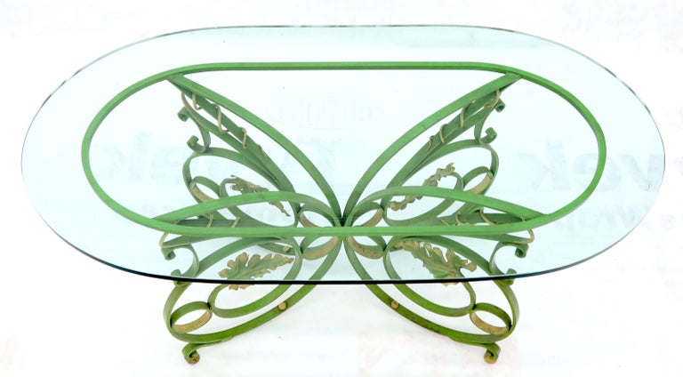 Hand painted wrought iron thick 3/4