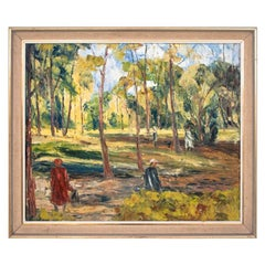 "Painting ""A Walk in the Park"""