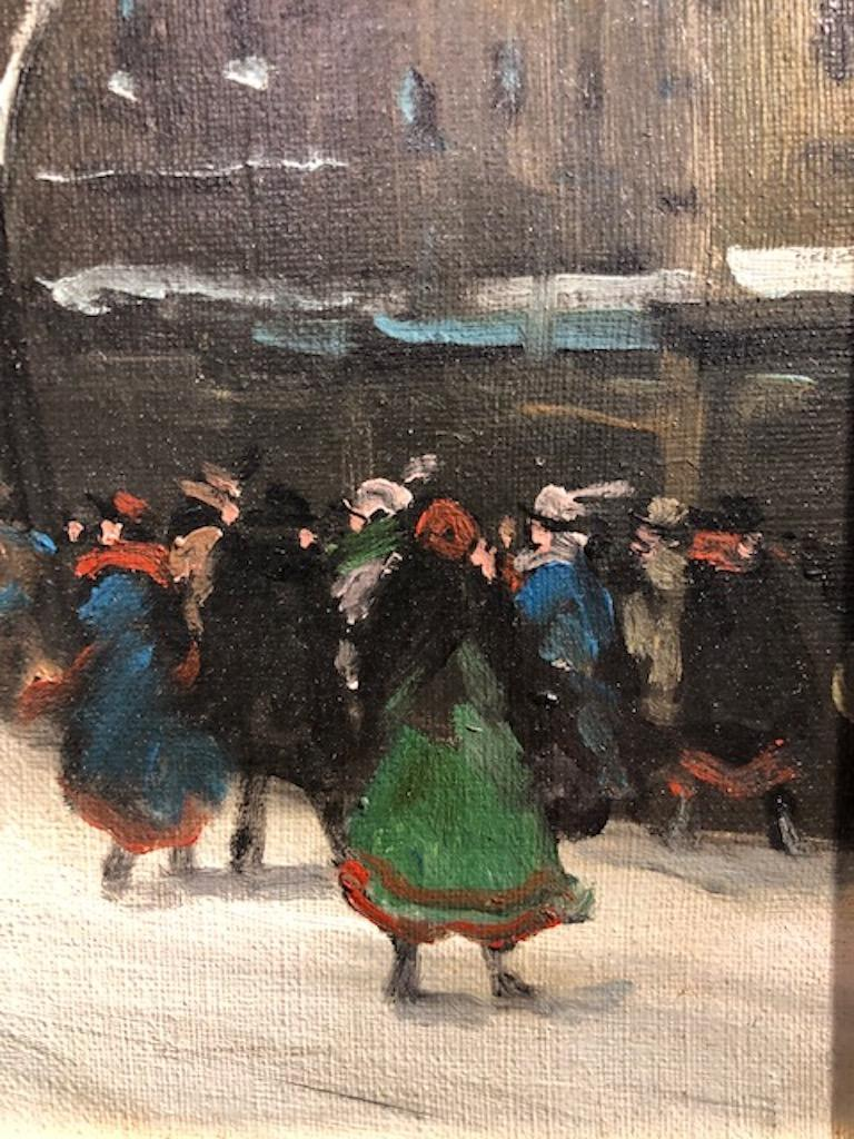 Painting by Berkes Antal For Sale 5