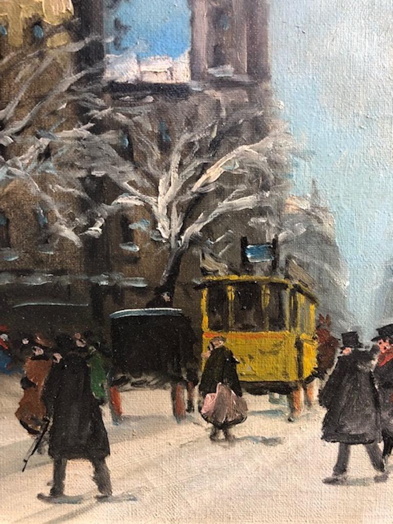 Painting by Berkes Antal For Sale 1