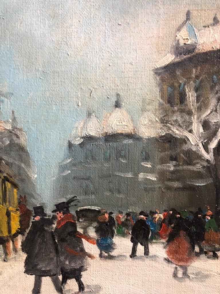 Painting by Berkes Antal For Sale 2