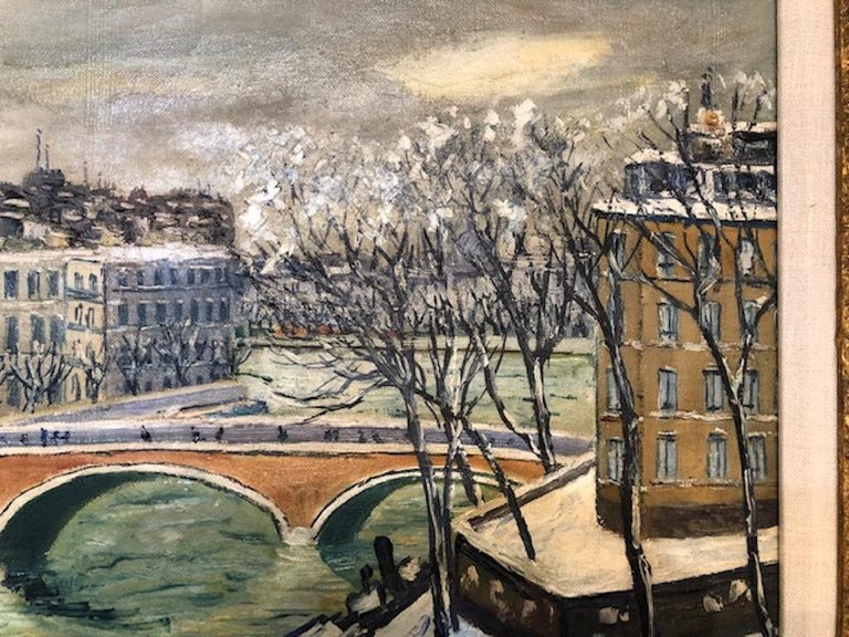French Painting by Elisee Maclet For Sale