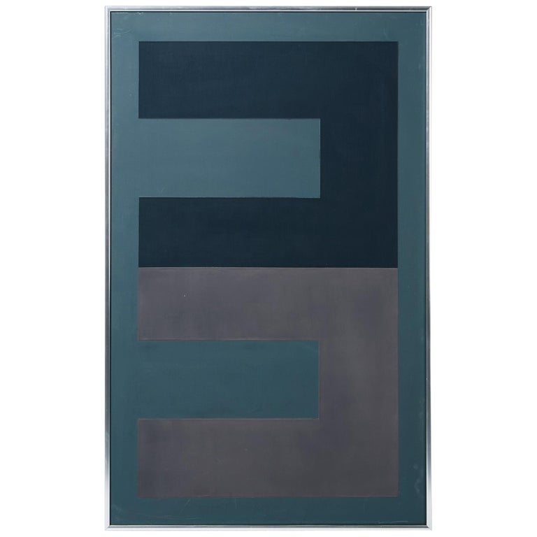 Painting by Eskil Hansson, Sweden, 1983 For Sale