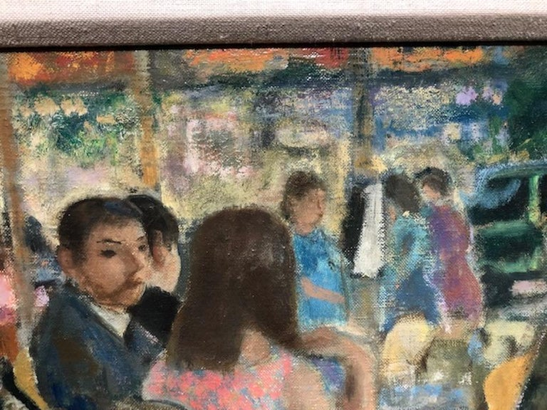 Mid-20th Century Painting by Francois Gall  For Sale