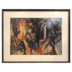 """Painting signed  """"Karen Tyler"""""""