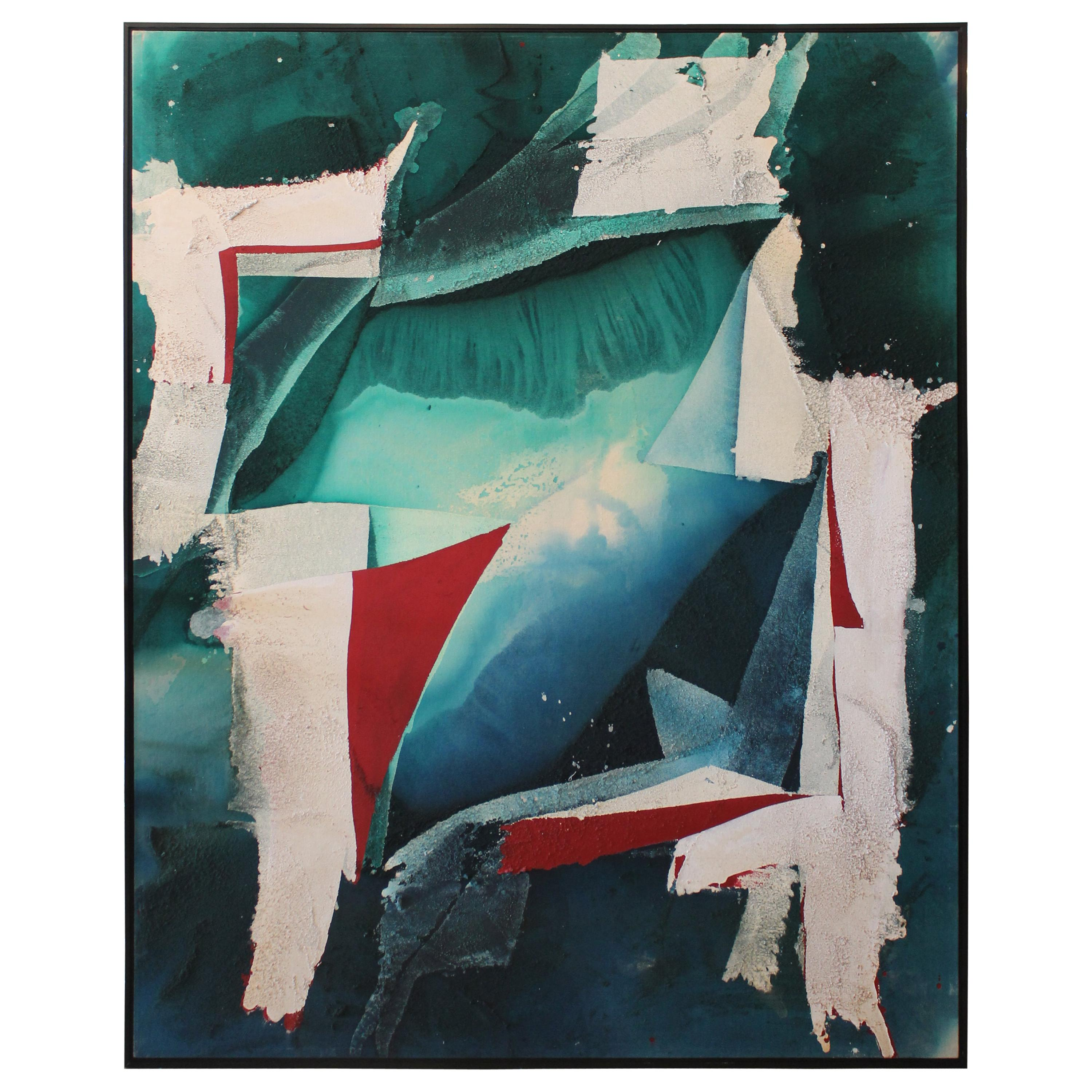 Abstract Painting by Michael Ashcraft, Titled Pleiade, 1989