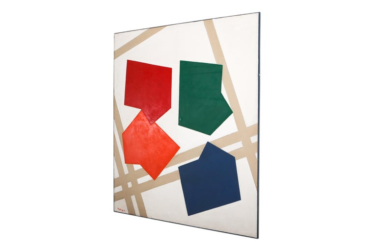 Painting by René Roche; 1979; contemporary painting; post-war artwork; graphic artwork.
