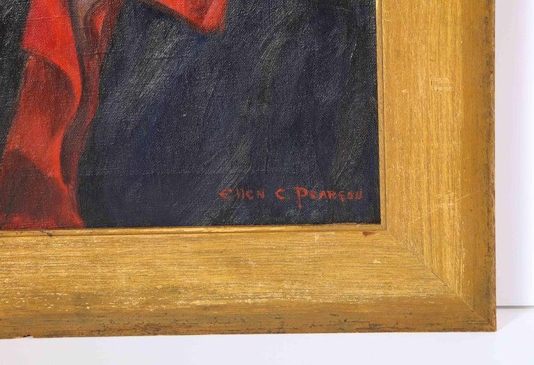 Mid-Century Modern Painting, circa 1950,