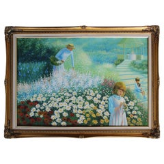 """Painting """"Family Among Daisies"""""""